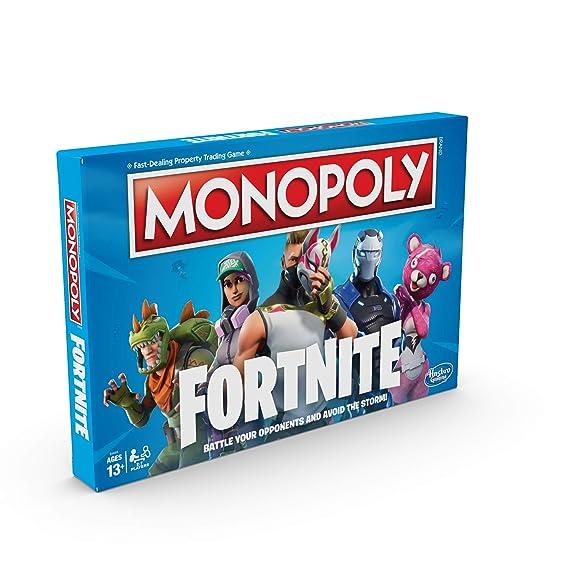 Monopoly E6603102 Fortnite Edition Brettspiel Mehrfarbig Englische