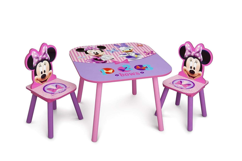 amazon com delta children table chair set disney minnie mouse baby