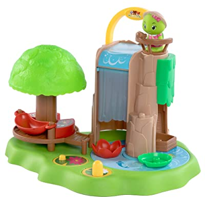 Fat Brain Toys Timber Tots Fantastic Waterfall Imaginative Play for Ages 2 to 8: Toys & Games