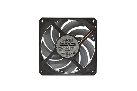 Carcasa del Ordenador, Ventilador, 12 cm, 2000 RPM, 14,5 dB, 38 dB Ventilador de PC Scythe SU1225FD12H-RP Carcasa del Ordenador Ventilador