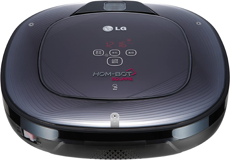 LG Hom-Bot Square, 13 W, 3 h, Litio, HEPA, 340 mm, 340 mm (Importado de Italia): Amazon.es: Hogar