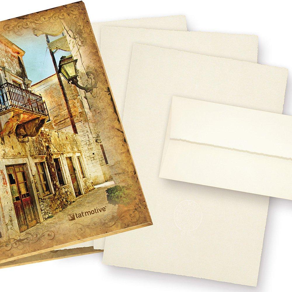 Zerkall Echt Büttenpapier Set A4 mit Wasserzeichen (24-tlg) 95 g/qm ...