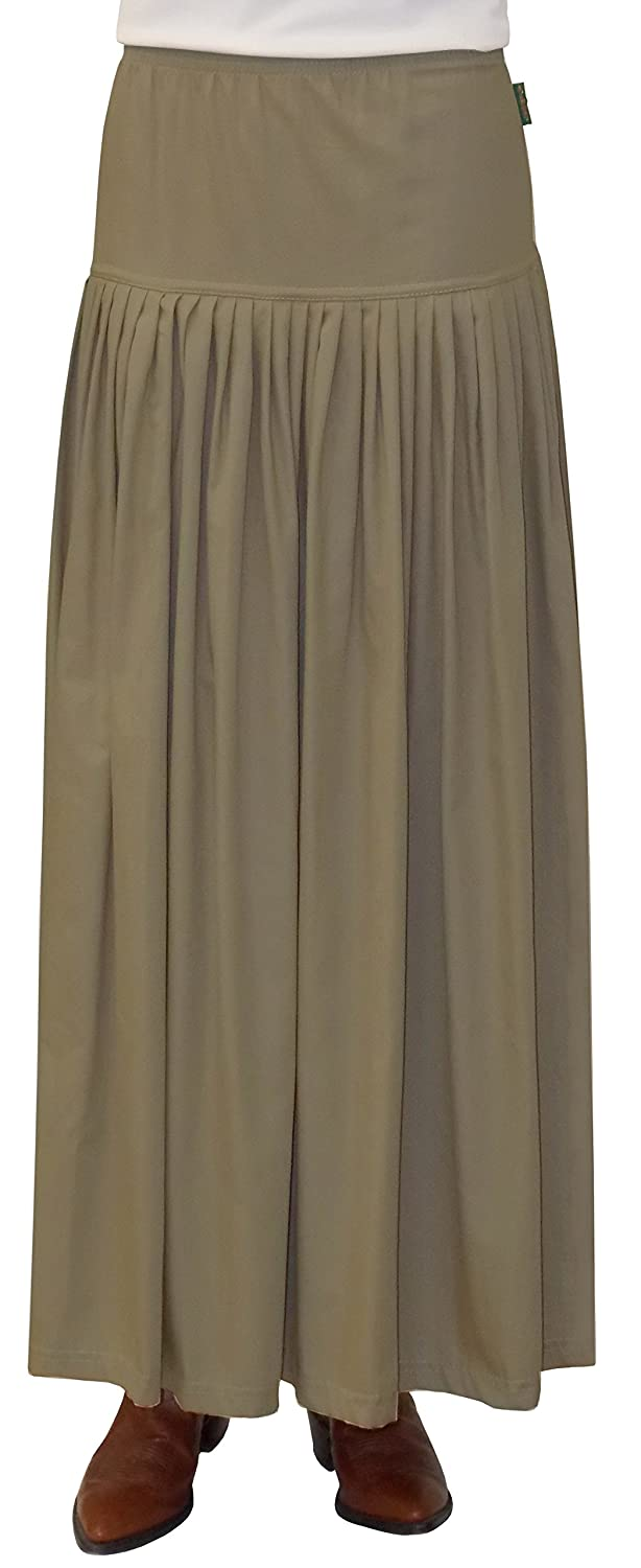 0de1761a2f Baby'O Women's BIZ Long Winter Weight Cotton Twill Skirt at Amazon Women's  Clothing store: