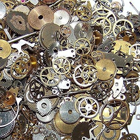 10g Steampunk Muñeca Reloj Antiguo piezas engranajes Ruedas: Amazon.es: Hogar