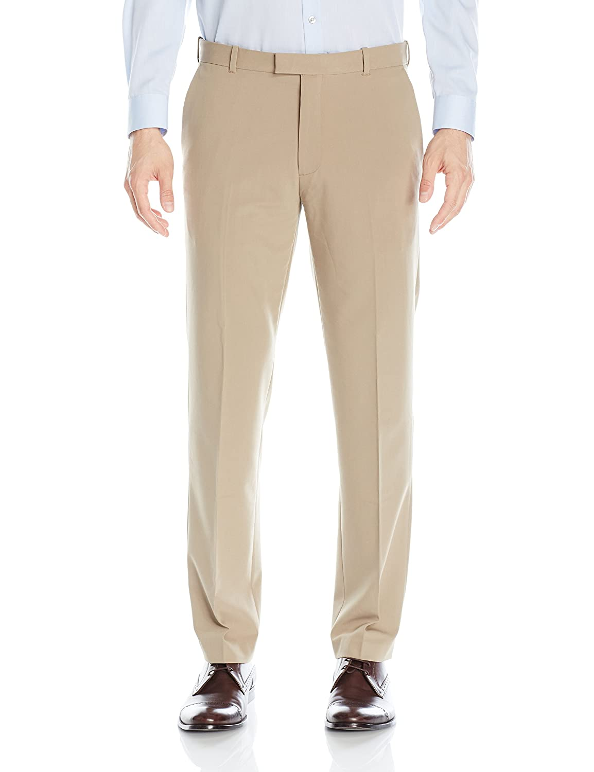 Van Heusen mens Flex Straight Fit Flat Front Pant 505M104