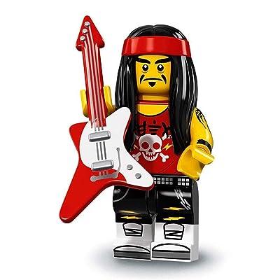 LEGO Ninjago Movie Minifigures Series 71019 - Gong & Guitar Rocker: Toys & Games