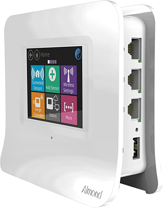 Securifi AL3-WHT-US Almond 3 (White): Complete Smart Home Wi-Fi System - Easy to Set up Dual Band Gigabit Wi-Fi Router