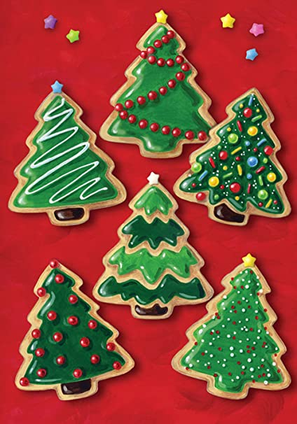toland home garden christmas cookies 125 x 18 inch decorative holiday cookie dessert tree garden flag