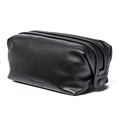 89ee328468 Image Unavailable. Image not available for. Color  Uri Minkoff Soft Napa  Leather Simple Toiletries Kit ...