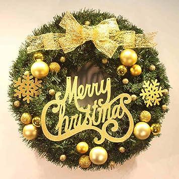 40 cm Weihnachtskranz Türbehänge Buchstaben Lizenzierung Dekorative ...