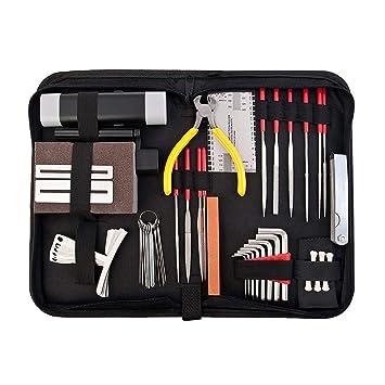 perfk 1 Set Herramienta de Mantenimientos de Reparación para Guitarra para Producción Musical Electrónica Aprendiziaje: Amazon.es: Instrumentos musicales