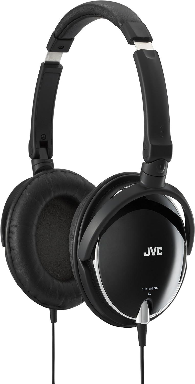 JVC HA-S600-B 密閉型ヘッドホン 折りたたみ式