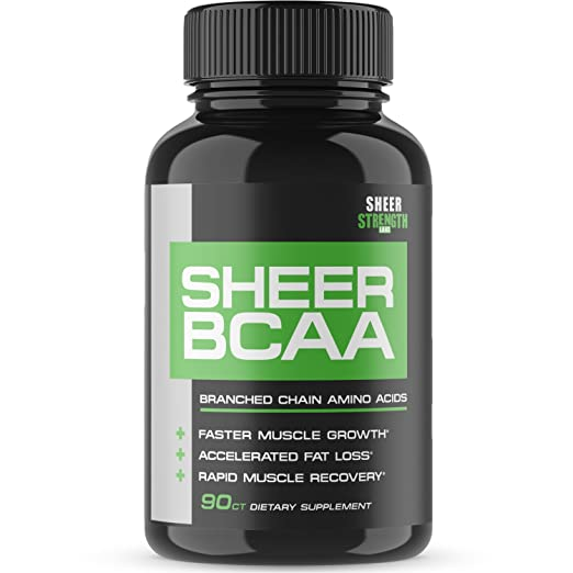 Product thumbnail for Sheer Strength Labs BCAA Capsules