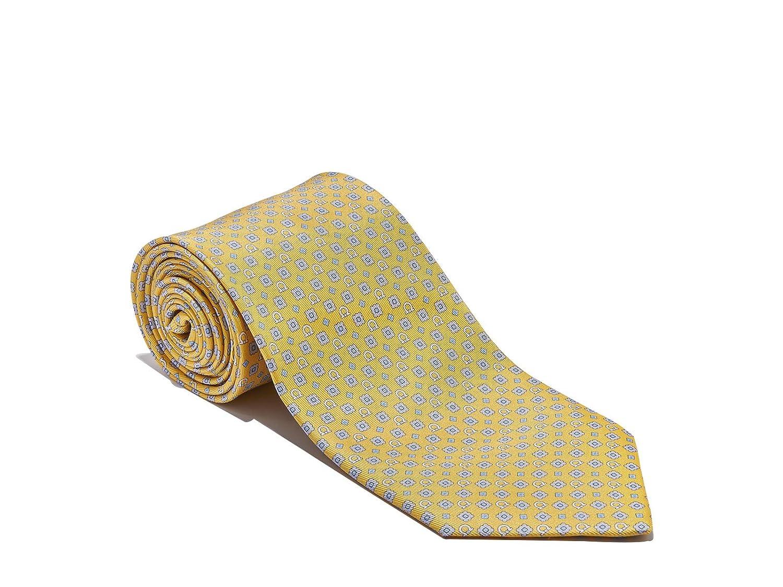 Salvatore Ferragamo Men's Yellow Gancini Neck Tie