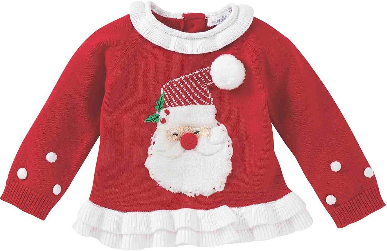 Infant//Toddler Mud Pie Mens Reindeer Long Sleeve Christmas Sweater