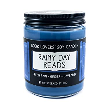 Rainy Day Reads - Book Lovers' Soy Candle - 8oz Jar