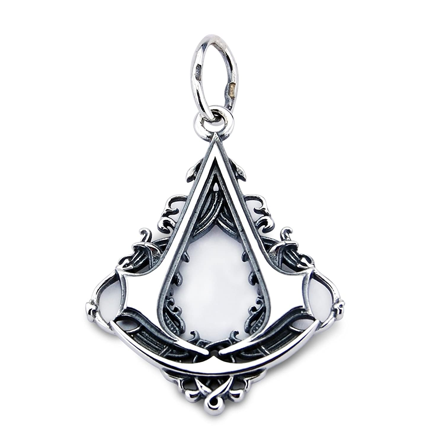 Deluxe Adult Costumes - Assassin's Creed IV Sterling Silver Black Flag Pendant