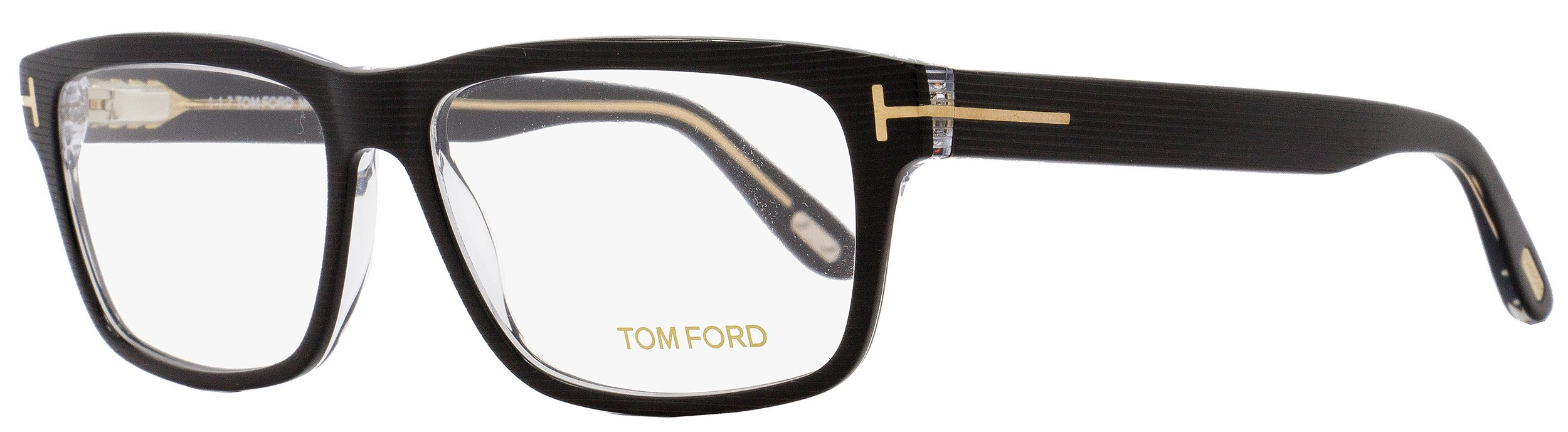New Tom Ford Eyeglasses Men TF 5320 Black 005 TF5320 56mm