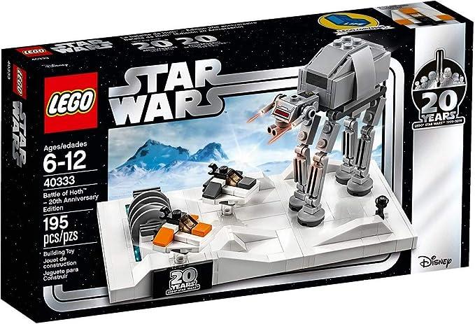 Star Wars Lego Batalla de Hoth™ (Edición 20 Aniversario): Amazon ...