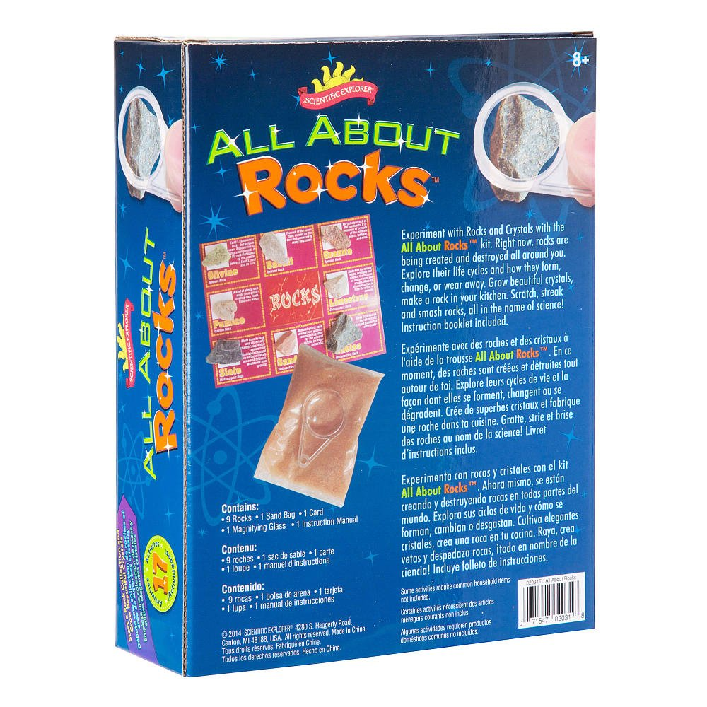 Amazon.com: Slinky Science All About Rocks: Toys & Games