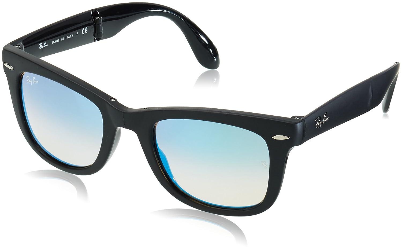 Ray-Ban Folding Wayfarer 60694O, Gafas de Sol para Hombre, Matte Black, 51: Amazon.es: Ropa y accesorios