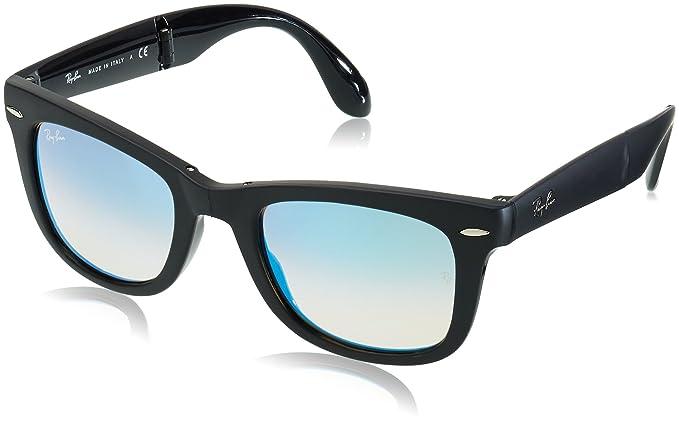 d918acbe76 Ray-Ban Folding Wayfarer 60694O Gafas de sol, Matte Black, 51 para Hombre:  Amazon.es: Ropa y accesorios