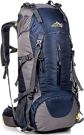 Minetom 50L Mochilas Impermeable Viaje Morral Deporte Multifunción Bolsa Plegable Trekking Viajes Al Aire Libre Gran Capacidad
