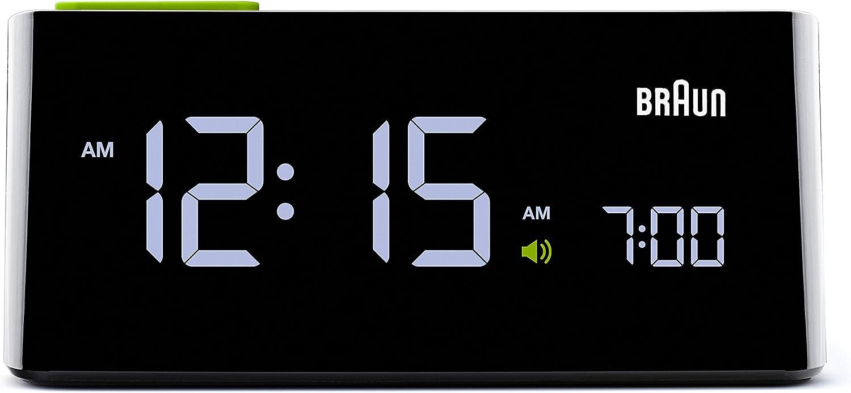 Braun Men's Electric Digital Alarm Clock