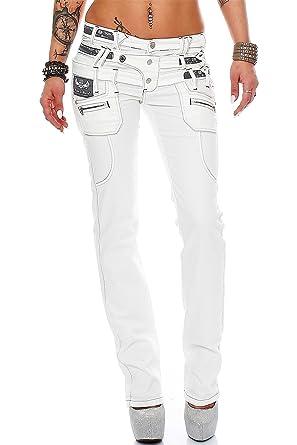 Cipo   Baxx - Jeans - Slim - Femme Bleu Bleu  Amazon.fr  Vêtements ... 4ca110305f