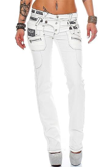 9821835238c Cipo   Baxx Damen Jeans Hose Hüftjeans Skinny Regular Fit Stretch ...
