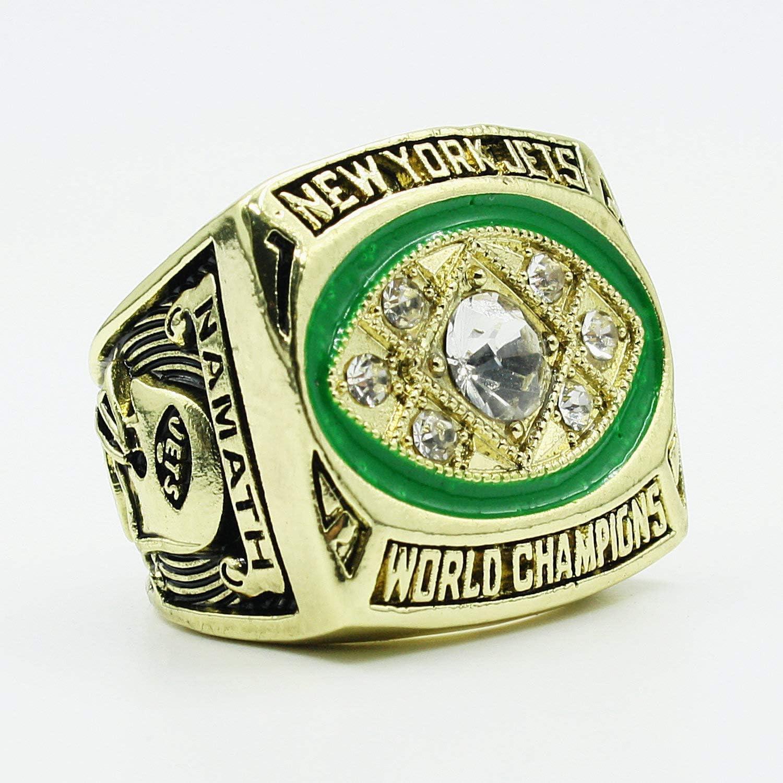 Jiustars 1996 Green Bay Packers Super Bowl II Championship Ring Mens Collectible Gift Size 9-13