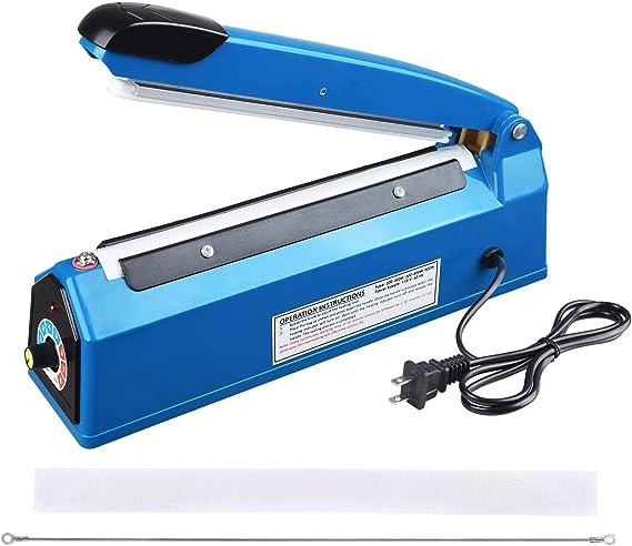 Heat Sealer Plastic Bag Sealing Machine Commercial Type Europlug 4/'/' 220V