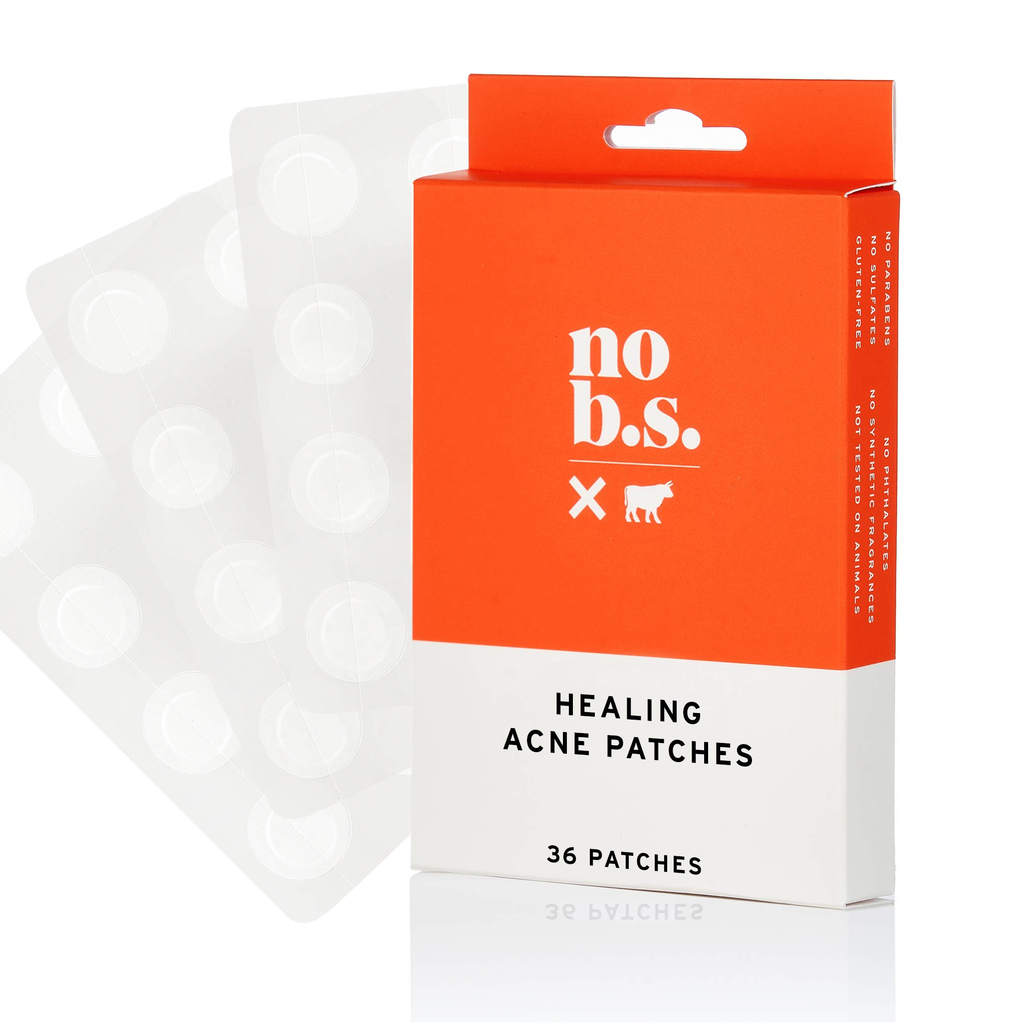 No B.S. Acne Patch - Acne Spot Treatment For Daily Use - Discreet, Non-Irritating, Quick Healing To Prevent Acne Scars by NO B. S. NO BAD STUFF