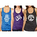 Epic MMA Gear Yoga Tank Top -Workout Racerback Pack of 3