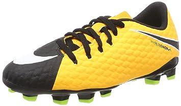 Nike Jr Hypervenom Phelon III FG Botas de fútbol 9285e741d2068