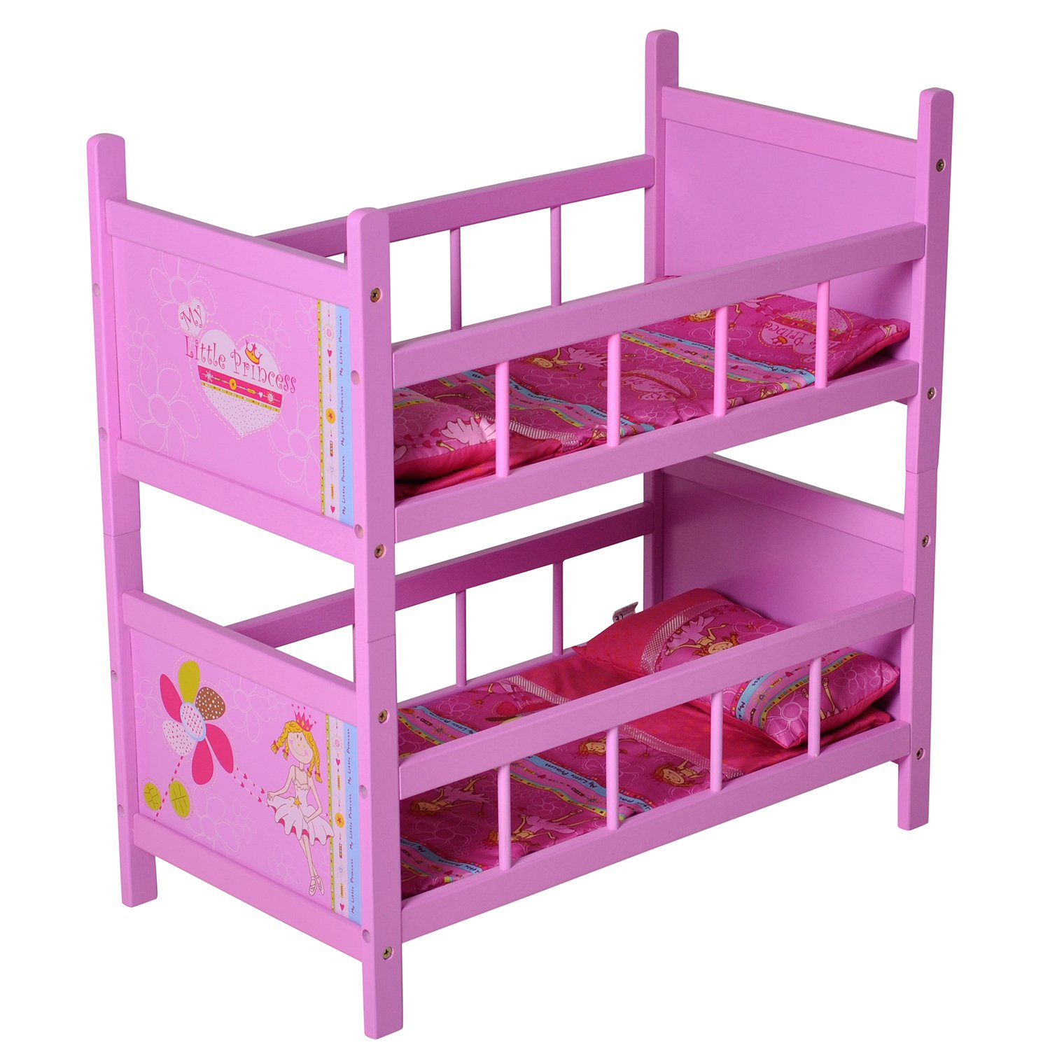 Knorrtoys  67804- My Little Princess, letto a castello per bambole, colore  rosa