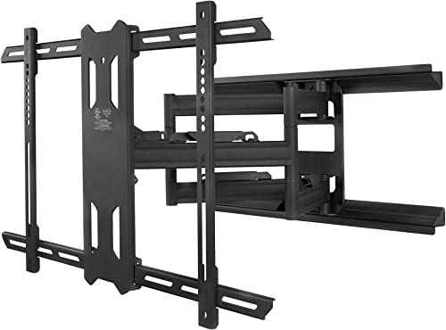 Kanto Full Motion Flat Panel TV Mount, Black PX600