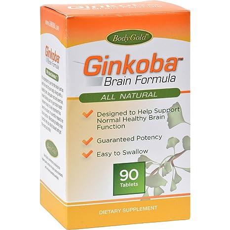 Ginkoba Brain Formula, 90 comprimidos Pharmaton Natural - Salud