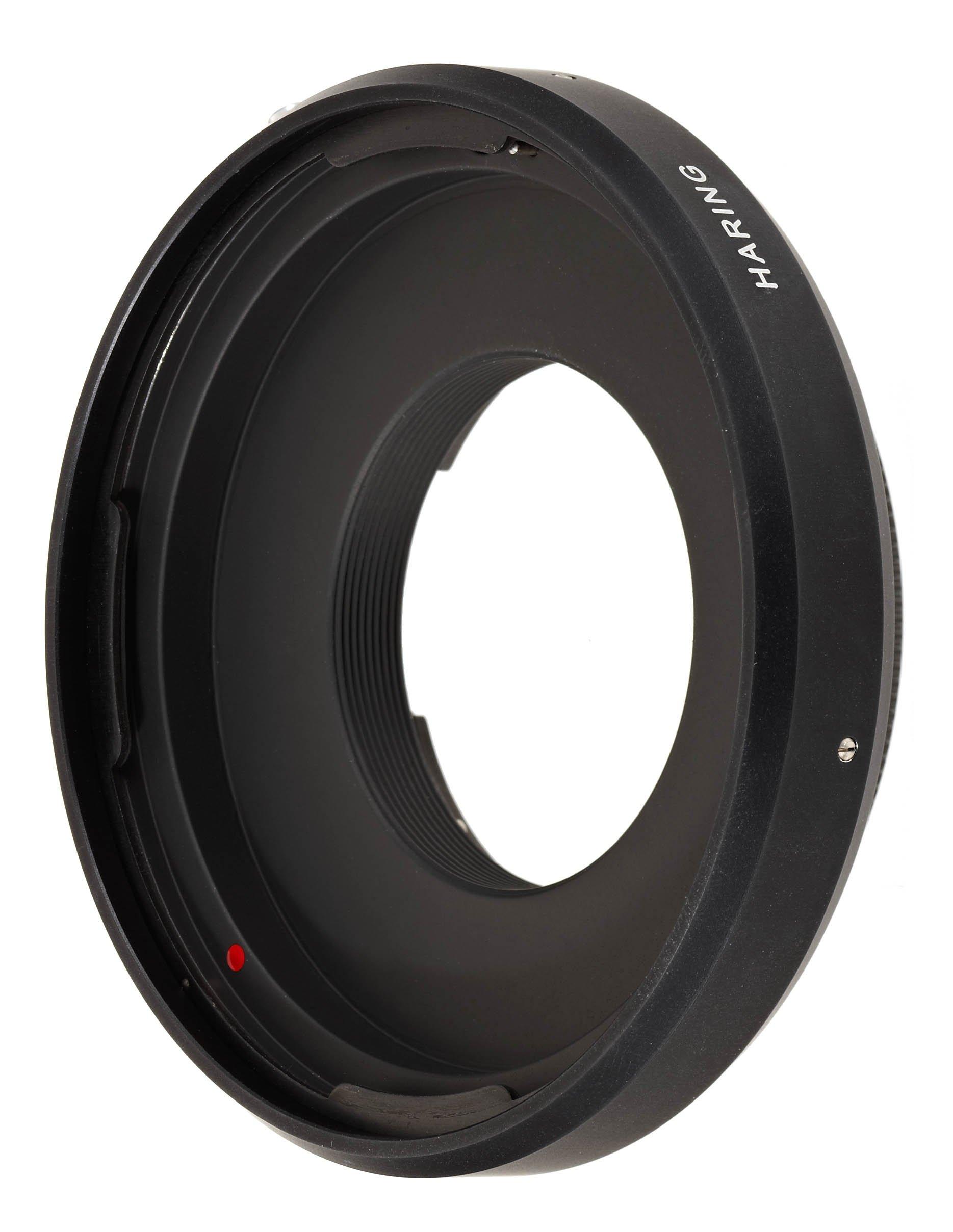 Novoflex Adapter for Hasselblad Lenses to Novoflex A-Mount  (HARING)