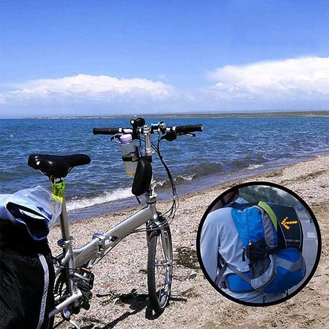 Drahtlose Steuerung Outdoor Sports Direction Indicator F/ür Radfahren//Wandern//Laufen Sicherheit Fahrradrucksack-zubeh/ör Mit Led-Blinker SOOTOP Fahrradweste