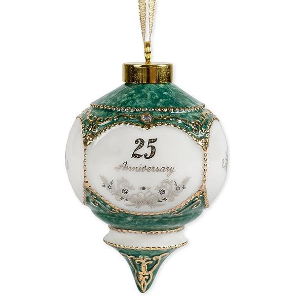 Amazon Com Cbe Happy 25th Wedding Anniversary Jewel Victorian 4 5