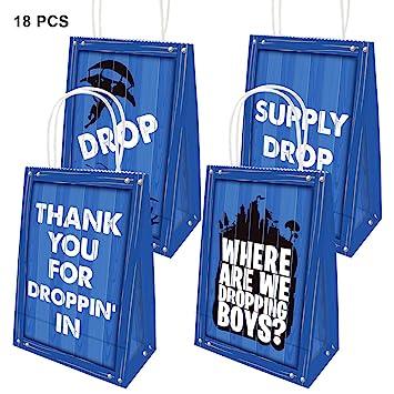 Amazon.com: Bolsas de fiesta de gota para niños, adultos ...