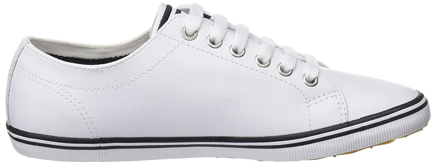 Fred Perry Kingston Leather Sneaker B01L02F1QY 5 D UK (6 US)|White 1