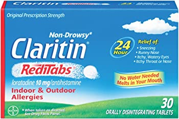 30-Count Claritin 24 Hour Non-Drowsy Allergy RediTabs