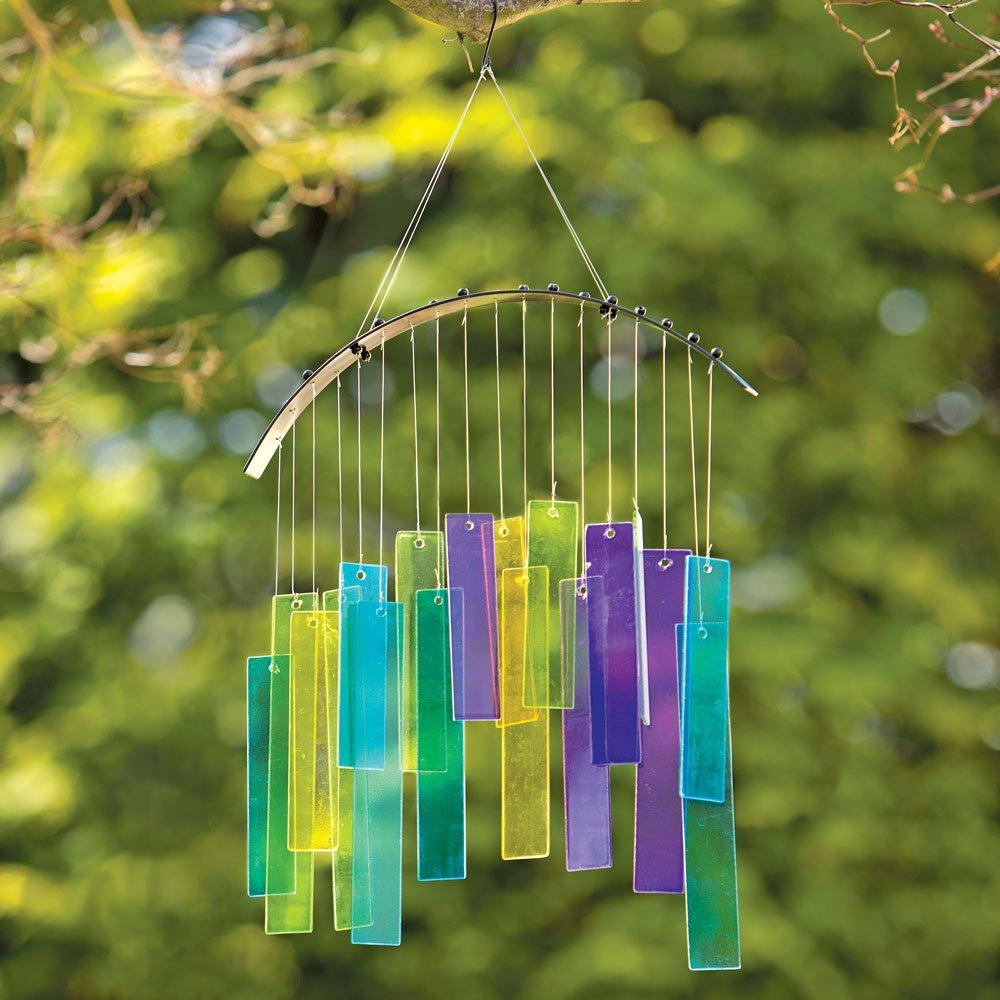 Amazon.com : Bits and Pieces - Garden Chime/Window Sun Catcher Décor ...