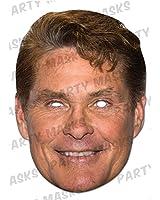David Hasselhoff Cardboard Celebrity Party Mask