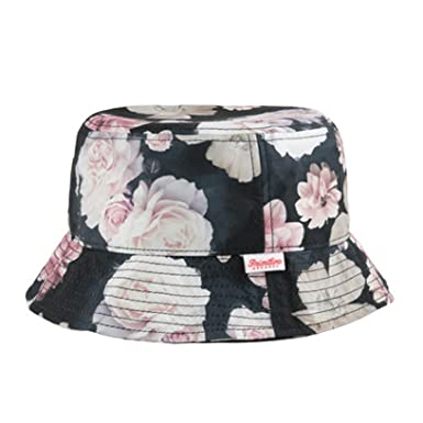 6dd2861d36e Image Unavailable. Image not available for. Color  Primitive Apparel Rose  Noir 5 Bucket Hat ...
