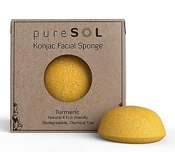 Afterspa Turmeric Konjac Sponge Redness Redux - Rosacea & Facial Redness Formula