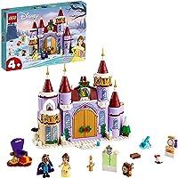LEGO Disney Princess Building Kit 43180 Belle's Castle Winter Celebration (238 Pieces)