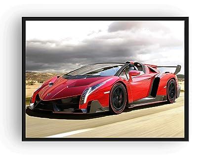 Amazon Com Lamborghini Veneno Roadster Poster 13x19 Usa Seller